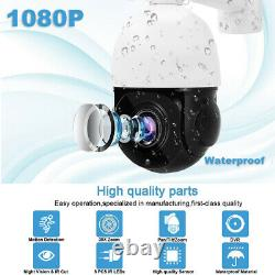 1080P 2MP PTZ Camera AHD 30X Zoom Speed Dome Outdoor IR-CUT CCTV Security OSD