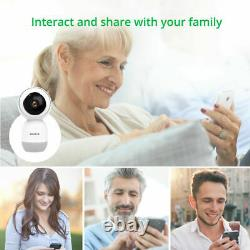 1080P HD 2.4G WiFi Smart IP Camera CCTV Indoor Home Security Camera Baby Monitor