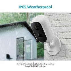 1080P HD Wireless WiFi Rechargeable Battery Camera Outdoor IP Security System