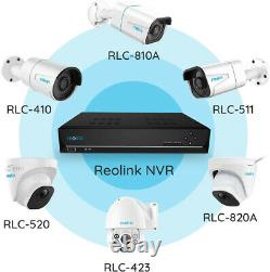 16CH PoE NVR Network Video 3TB HDD for Security 4MP 5MP Camera Reolink RLN16-410