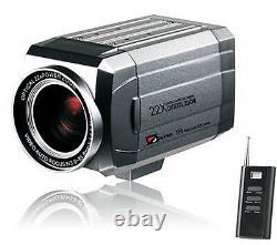 27x Optical Adjustable Zoom CCTV Camera+Wireless RF Remote Pelco D Trinus 700TVL