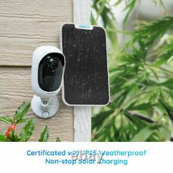 2Set Reolink Wifi Security Camera Solar Powered Rechargeable Argus 2+Solar Panel