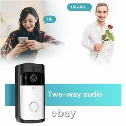 2in1 Video Türklingel Spion mit WLAN LIVE Übertragung APP Steuerung iOS Android