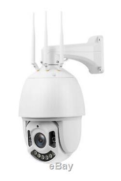 4G Outdoor Flood Light 64GB Home Security 3G PTZ Camera WIFI 30X Optical Zoom