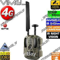 4G Trail Camera Home Security Hunting Scouting Cam Wireless IR