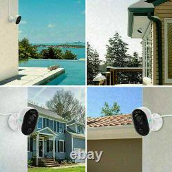 4X Outdoor WiFi Security Camera with Spotlight Home Security System Reolink Lumus