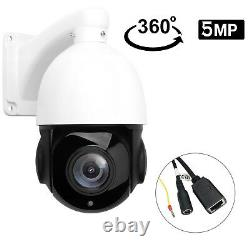 5MP 30X Zoom HD Outdoor PTZ IP Speed Dome Camera SONY CMOS 80M IR ONVIF DE