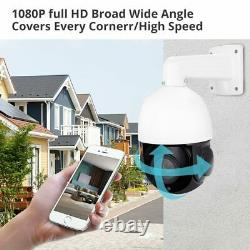 5MP AI Auto Tracking IP PTZ Dome Camera P2P 30X Zoom Hikvision Compatiable With