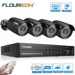 8CH 1080P 1080N DVR Kit IR IP66 3000TVL 2MP Camera Home CCTV Security System Kit