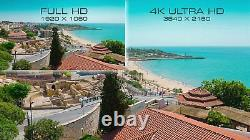 8 Channel 4K NVR (4) 8MP 2160p Waterproof IP POE Dome Security Camera System 4TB