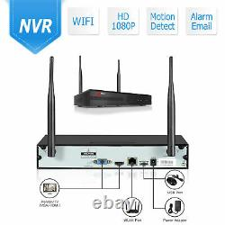 ANRAN Wireless Security Camera System 8CH 1080p Outdoor Night Vision with Audio