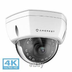 Amcrest 4K IP PoE Camera UltraHD 8MP Dome Security Camera IP8M-2493EW