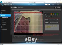 Amcrest NV4108E-HS 4K 8CH POE NVR Home Security Camera System Surveillance NoHDD