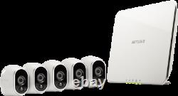 Arlo VMS3530-100NAR 5 Wire-Free HD Cameras Security System Certified Refurbished