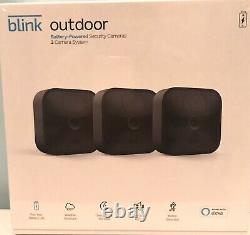 Blink Outdoor Hd Security 3 Camera System, Newest Model (2020), New