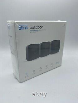 Blink Outdoor WiFi 3-Camera Security System LATEST Model works with Alexa NEW