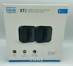 Blink XT2 Indoor/Outdoor Wi-Fi Wire Free 1080p Security Camera 2 Camera Kit