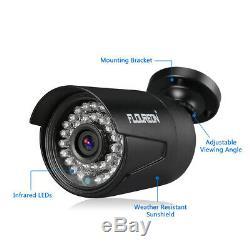 CCTV Home Security System 1080N AHD DVR+ 8x 3000TVL 1080P IR-CUT Camera + 1TB US