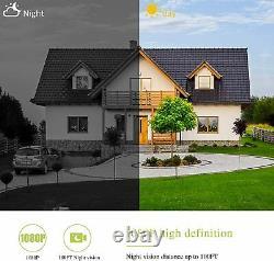 Camara De Seguridad Solar WIFI Inalambrica Para Casa Exterior HD 1080P Con Audio