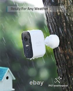 Eufy Security eufyCam 2C 2-Cam Kit Wireless Home Security System HomeKit 1080p