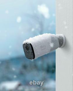 Eufy eufyCam 2 Pro 2K Indoor/Outdoor 2-Camera Security System White