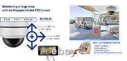 GW 5MP 1920P Pan Tilt Zoom HD IP PoE 5X Optical Zoom Security Dome PTZ Camera