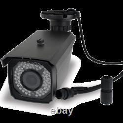 GW 5MP 1920p H. 265 2.8-12mm Varifocal Zoom PoE IP Outdoor Bullet Security Camera
