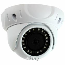 GW 8MP Ultra HD 4K (3840 x 2160) Wide Angle IP PoE IP Dome PoE Security Camera