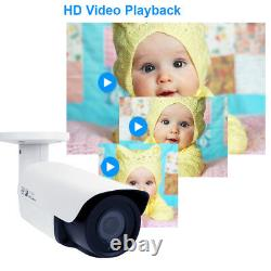 GW HD 2592x1920 5MP PoE Security IP Camera with 2.8-12mm Varifocal Zoom Lens Onvif