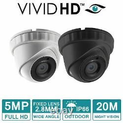 Hikvision CCTV KIT 5MP 1080P Night Vision Outdoor DVR Home Security System HD