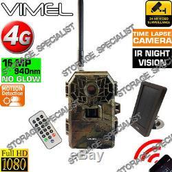 Home Security Camera 4G 3G Remote View House Solar Power Farm Home