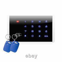 KERUI G18 Wireless GSM Home Burglar Security Alarm System Siren WIFI IP Camera