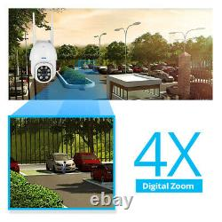 KERUI Wireless IP Camera Outdoor CCTV Security System HD 1080P WIFI PTZ 2MP