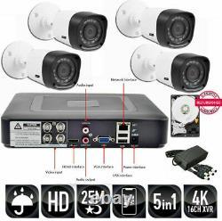 KIT SORVEGLIANZA DVR 4 Canali + HD + 4 TELECAMERE + Alimentatori + HD SATA 3