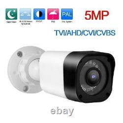 KIT SORVEGLIANZA DVR 8 + 8 TELECAMERE Sony 3000 MPX + Alimentatori + HD SATA