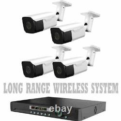 LONG RANGE WIRELESS TRANSMIT UP TO 1700 FT Security Cameras Night Vision With DVR