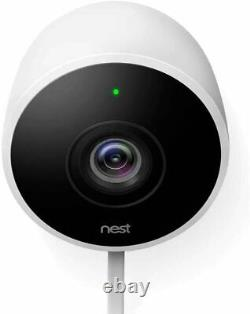NestCam Outdoor HD Security Surveillance Camera with 2 Way Audio (2 Pack)