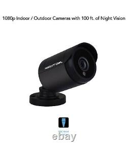 Night Owl 1080p HD Wired Bullet Cameras (2-Pack). Fast Ship And Cable Included