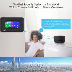 O56 WIFI APP GSM GPRS RFID Wireless Home Security Alarm Burglar System+IP Camera