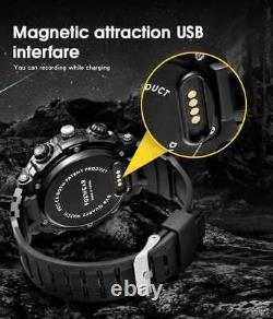Outdoor-Armbanduhr (FOX9C) Analoge Smart-Watch mit integrierter Kamera 32GB