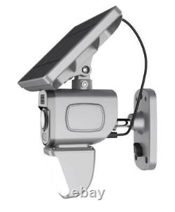 Outdoor IP Wireless 128GB Security WIFI Solar Powered Flood Light Camera PIR