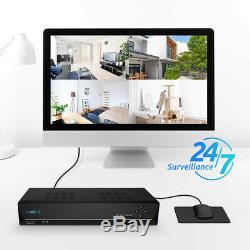 POE 4MP Security Camera System 8CH NVR 2TB HDD Home Surveillance Kit RLK8-420D4