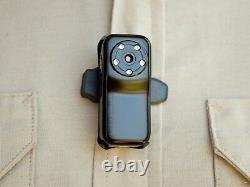 PatrolEyes HD Police Body Mini Metal Camera 1080P Covert Video Camera DVR + 32GB