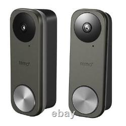 Remo+ RemoBell S WiFi Video Doorbell Camera with Wi-Fi Chime