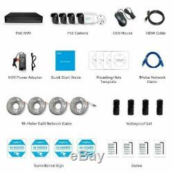Reolink 4K 8CH 8MP PoE Home Surveillance 4 PoE Security Camera NVR RLK8-800B4 AU