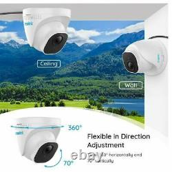 Reolink 8CH NVR 5MP PoE Surveillance Security Camera System 2TB HDD Recording
