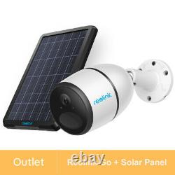 Reolink Refurbished 1080P 4G LTE Security Camera Battery Powered GO+ Solar Panel