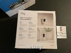 Ring Stick Up Cam Battery Powered Indoor Outdoor Camera 2-camera Bundle OPEN