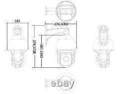 SUNBA POE SONY 20X ZOOM HD 1080P 2.0MP Outdoor PTZ IP Speed Dome Camera