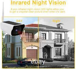 Solar Powered IP Camera 1080p WiFi Ip67 Night Vision Security 32gb Card Wireless